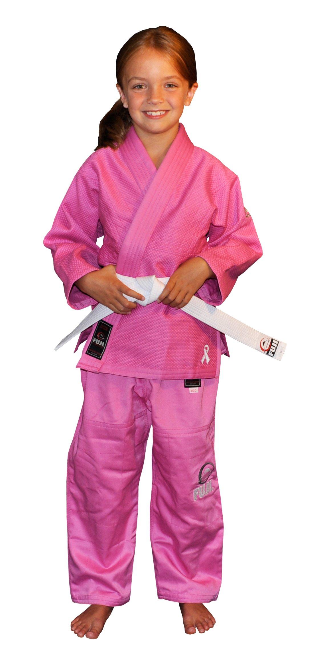 Fuji Kid's BJJ Uniform, Pink, WC00 by Fuji