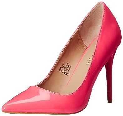 Madden Girl Women s OHNICE Dress Pump Glow Pink Patent 6 ...