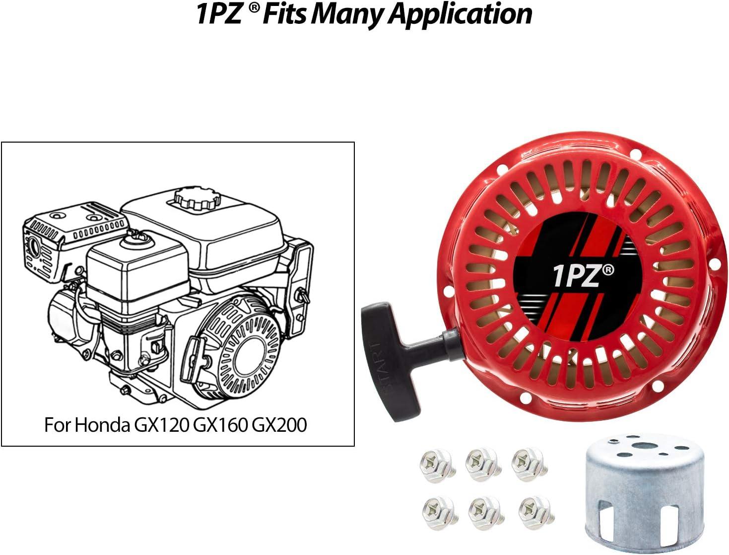 1PZ BA5-W02 Pull Recoil Starter Start Assembly for Coleman CT200U Trail 200 196cc Mini bike Parts
