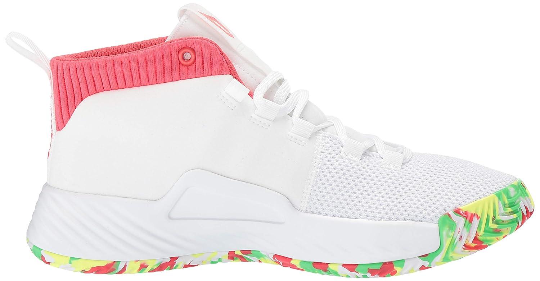 premium selection 91a7c 8f7cf Amazon.com  adidas Kids Dame 5 Basketball Shoe  Basketball