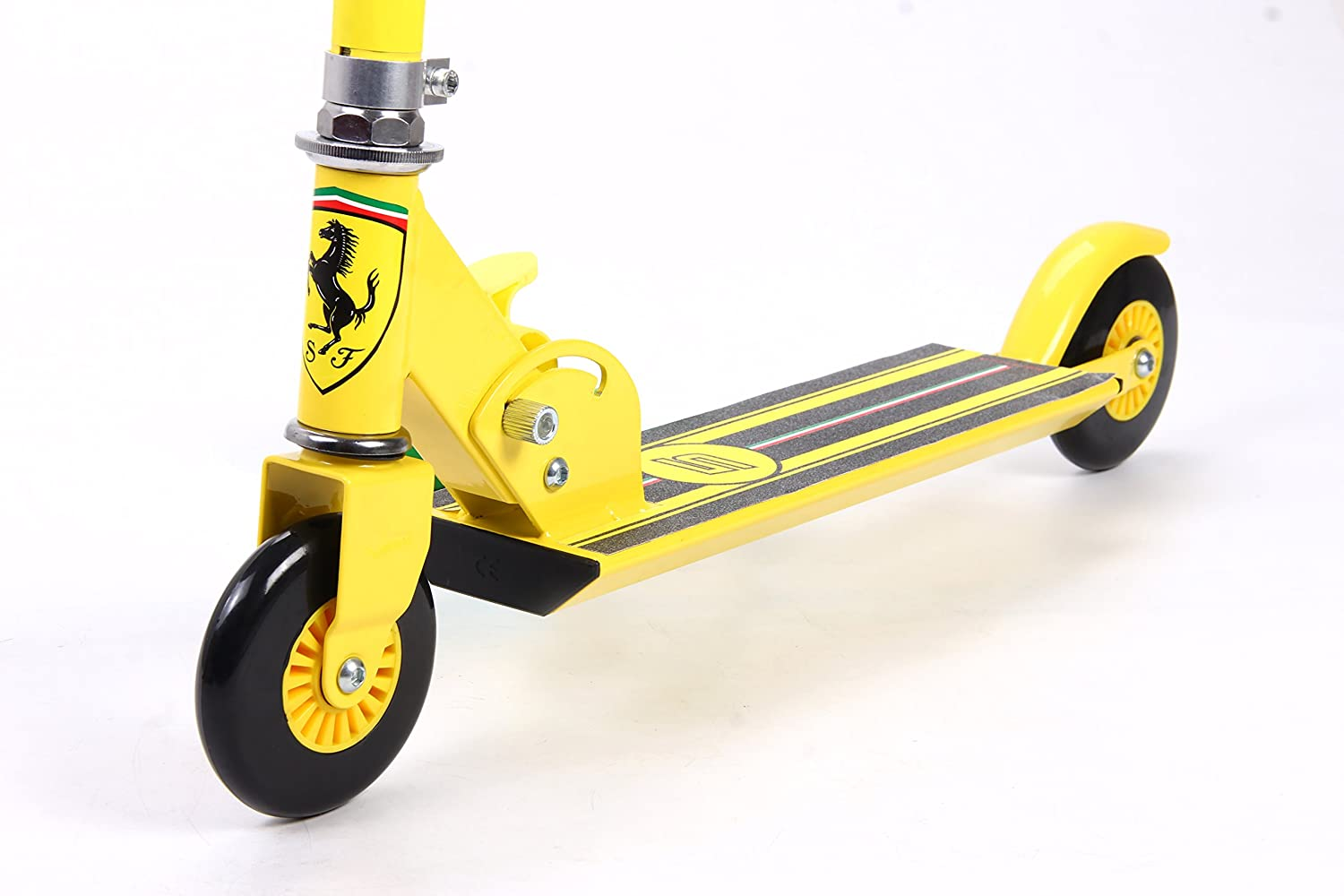 Ferrari Kids Two Wheels Scooter, Yellow