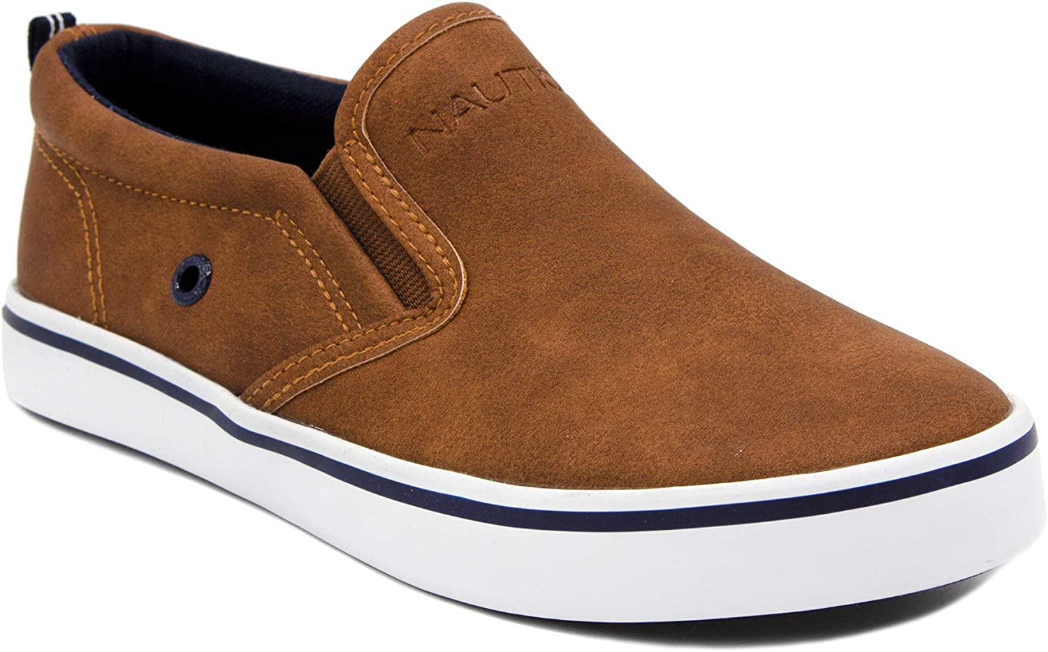 Nautica Kid's Slip-On Casual Shoe Athletic Sneaker - Youth-Toddler Akeley (Big Kid/Little Kid/Toddler)