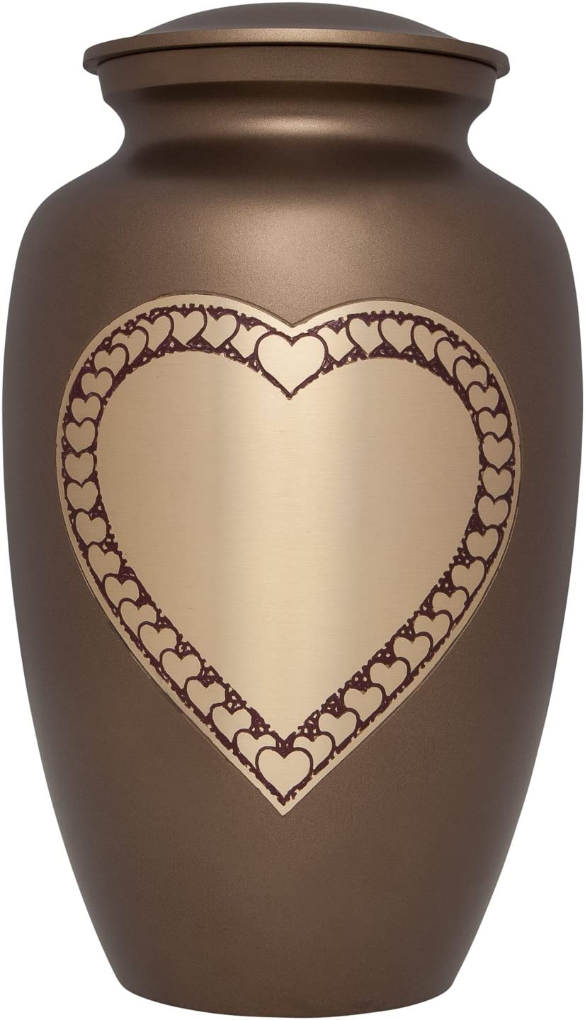 Custom Urns for Human Ashes Ashes Urns with Personalization- Memorials Serenity Black Mini Adult Cremation Urn for Human Ashes with Velvet Bag A Beautiful Urn to Honor Your Loved One Lost