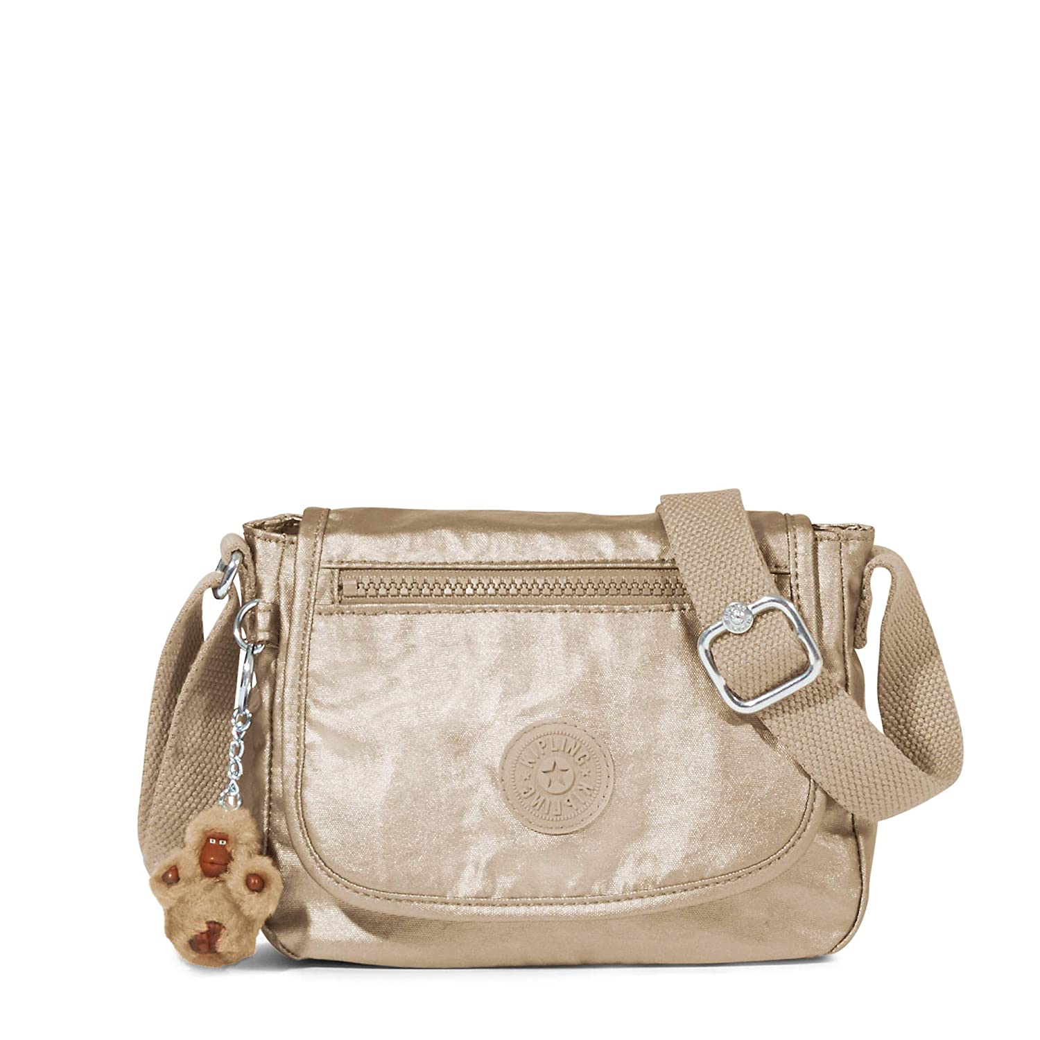 Kipling Sabian Metallic Crossbody Mini Bag Toasty Gold