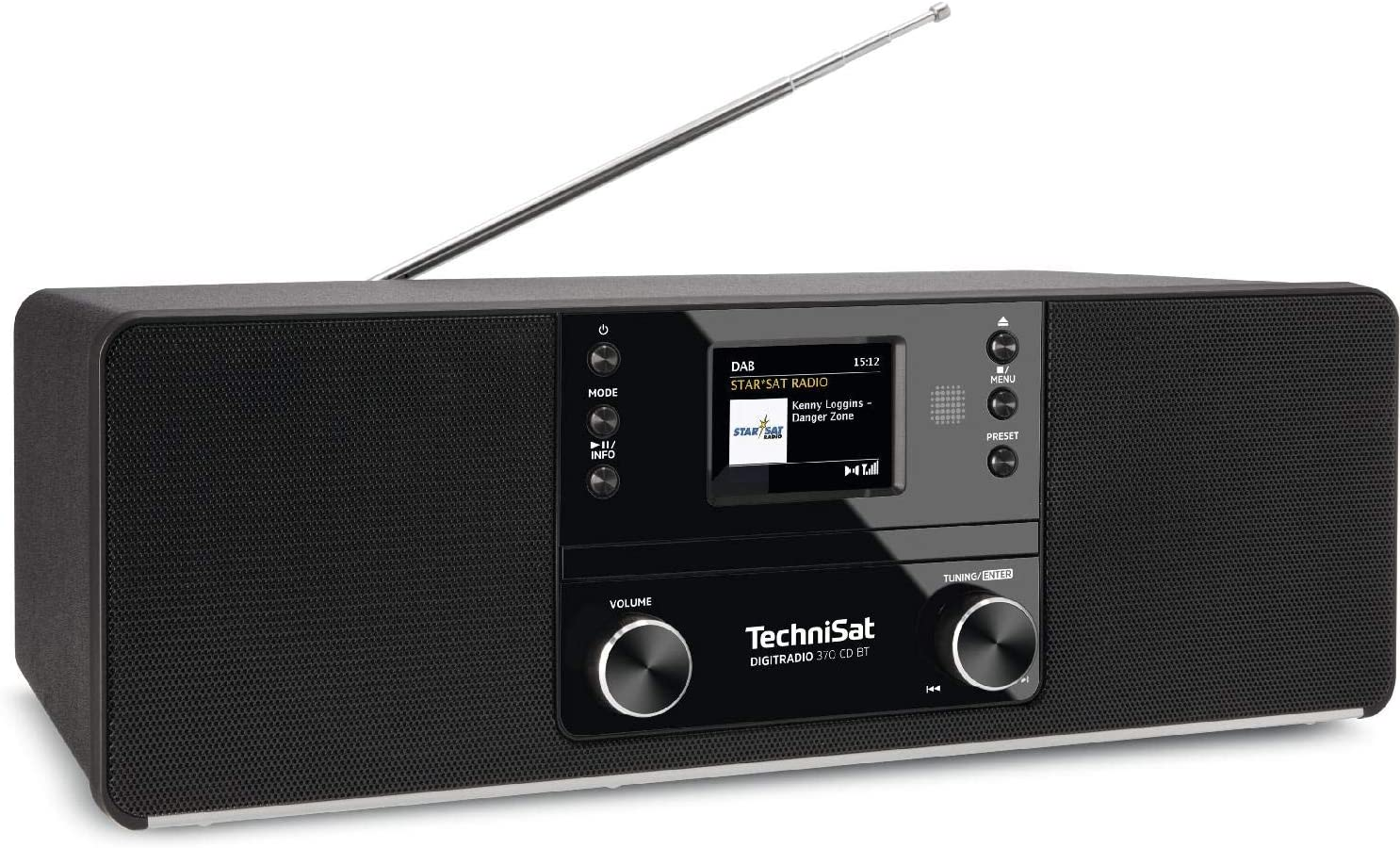 Technisat Digitradio 370 Cd Bt Cd Radio Dab Fm Cd Black Home Cinema Tv Video
