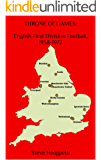 THRONE OF GAMES: English First Division Football, 1958-1972