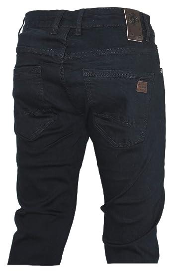 66becb2a499d7 D-Skins Pantalon Homme Noir Coton Slim Carrot - DK-8360 - US 28 ...