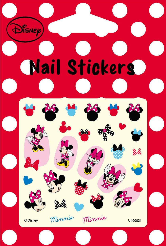 Disney Nail Art stickers Cartoon Decoration Mix 4-Pack (Minnie) by JENG TAIR