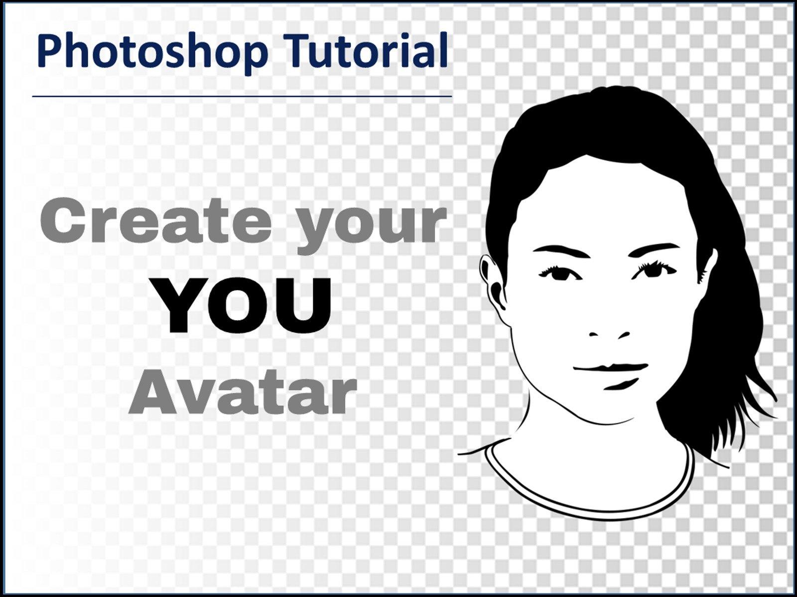 Amazon com: Watch Photoshop Tutorial - Create your You Avatar
