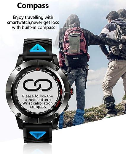 Amazon.com: Kariwell GPS Sport Smart Watch - Call Message ...