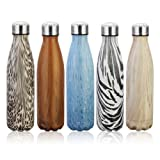 Amazon Price History for:KING DO WAY 17oz Double Wall Vacuum Insulated Stainless Steel Water Bottle Perfect for Outdoor Sports Camping Hiking Cycling Picnic