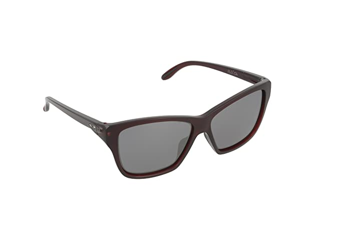 Oakley Sonnenbrille Hold On, Gafas de Sol para Mujer, Frosted Rhone, 58