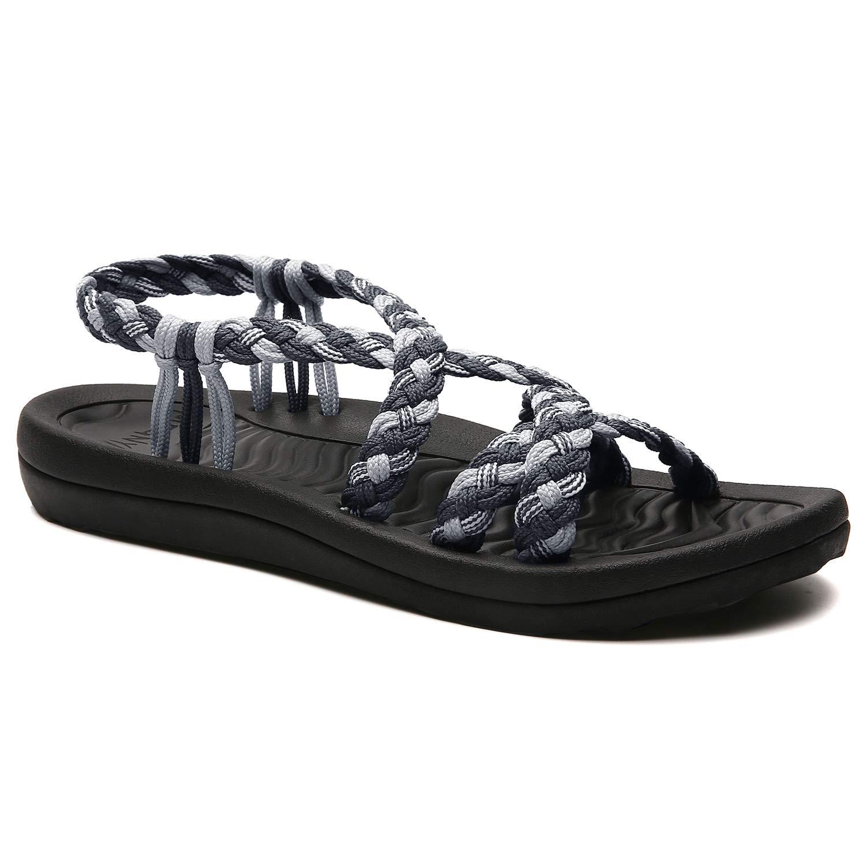 88001116cd007 Amazon.com | MEGNYA Women's Comfortable Walking Sandals with Arch ...