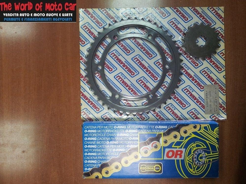 Catena O Ring Ox Ring.Kit X Ring 45 17 Chain 530 Rfos 114 Links Kawasaki Zzr 1100 93 97