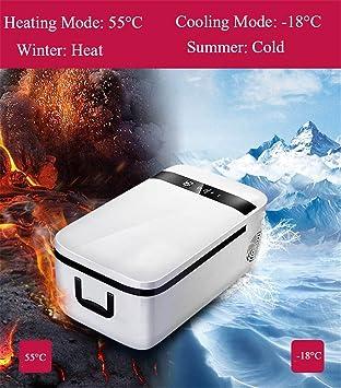 Refrigerador De Coche Auto Portatil Del Compresor Más Fresco Y Más Cálido 12V Del Refrigerador Del