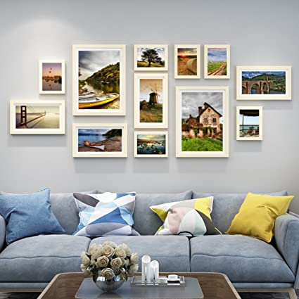 Amazon.com: Home@Wall photo frame 12 pcs/sets Collage Photo Frame ...