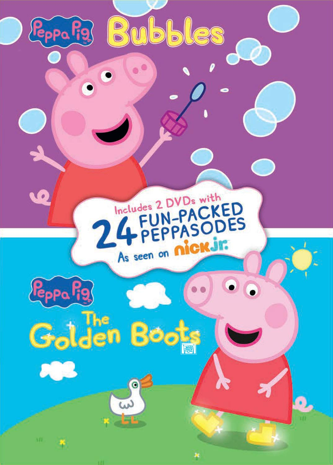 Peppa Pig: Bubbles / The Golden Boots