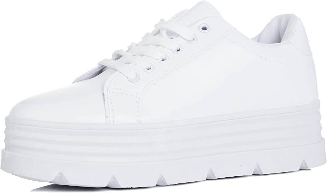 Platform Flat Trainers Shoes