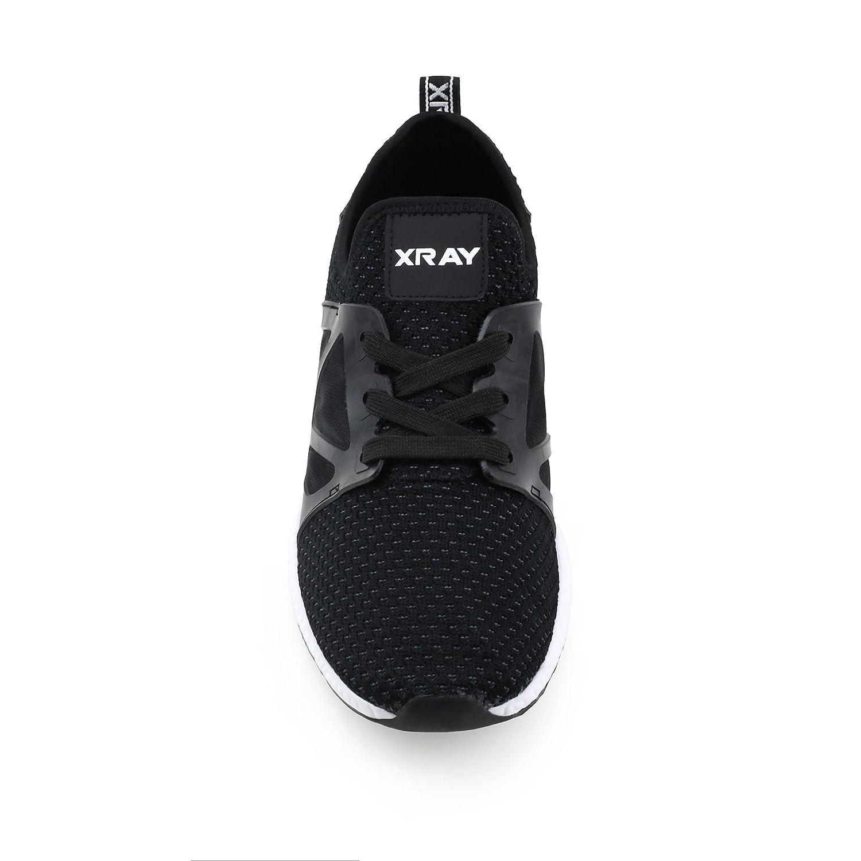 X RAY Mens Galaxy Runner Sneaker Black 10