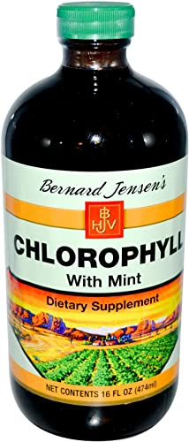 Chlorophyll Liquid with Mint 16 fl Ounce Liquid