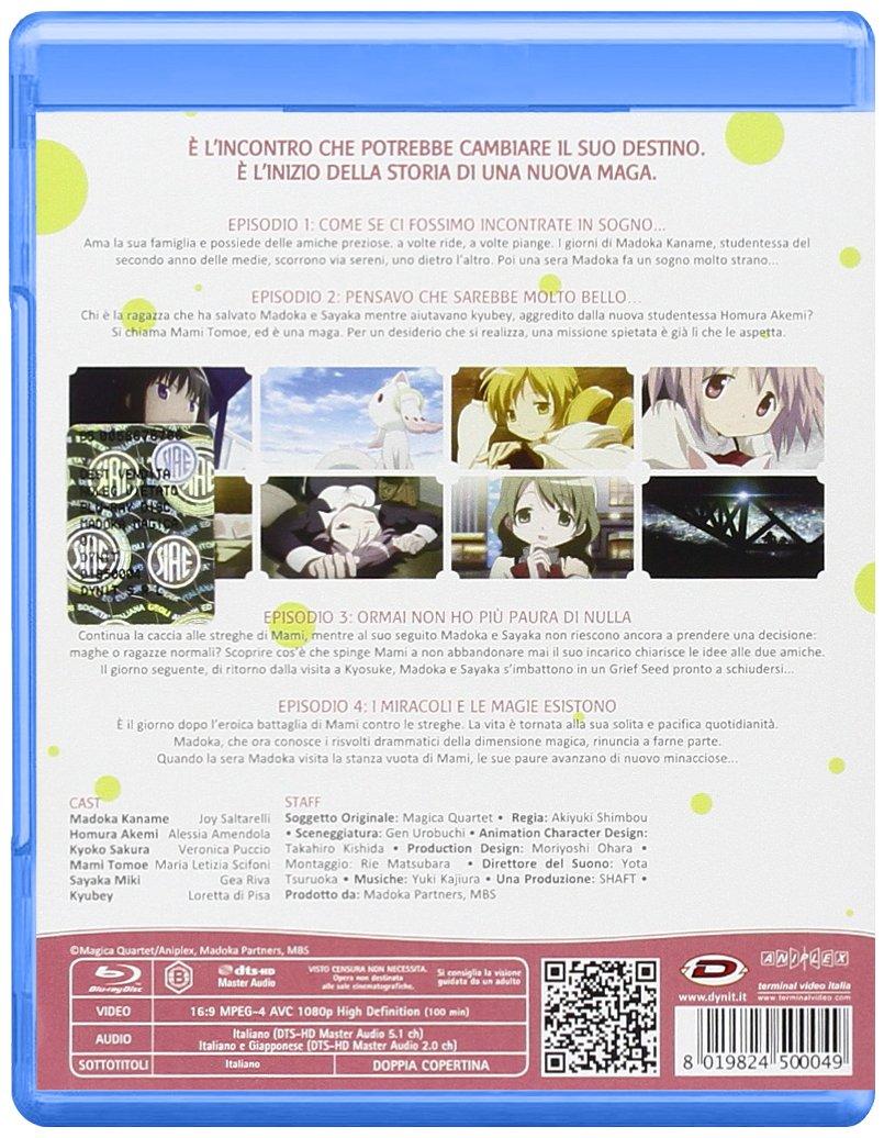 Amazon com: Madoka Magica - The Complete Series (Eps 01-12