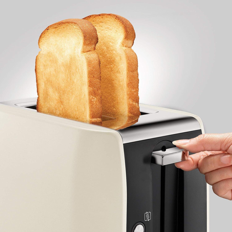 Morphy Richards 222058 Stainless Steel 2 Slice Toaster Black
