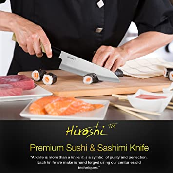 Premium Sushi & Sashimi Chefs Knives – Set of 4 Knives - Ultra High Carbon Steel Blades