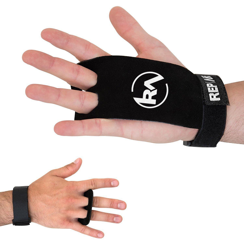 REP AHEAD Grips 2.0 (Guantes/calleras para Atletas)– La protección para Las Manos Extra Fuerte para Crossfit, calistenia, Halterofilia y Gimnasia