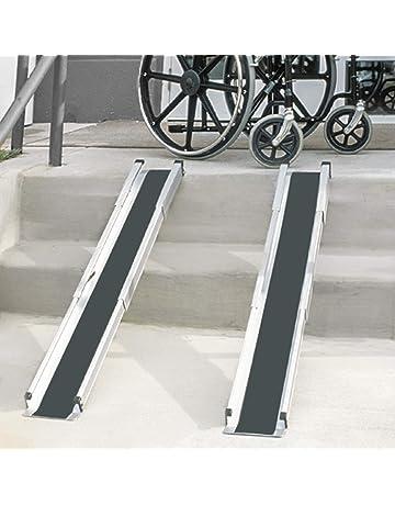 DMI 517-4094-0000 - Rampas telescópicas para sillas de ruedas, retráctiles,