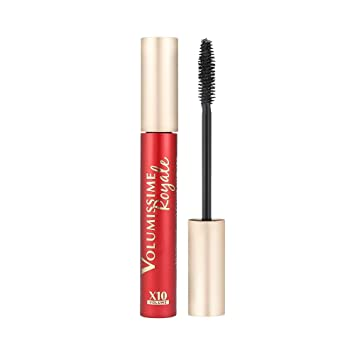 5757739f2a1 L'Oreal Paris VOLUMISSIME ROYALE X10 VOLUME 01 BLACK Mascara 7,9ML:  Amazon.co.uk: Beauty