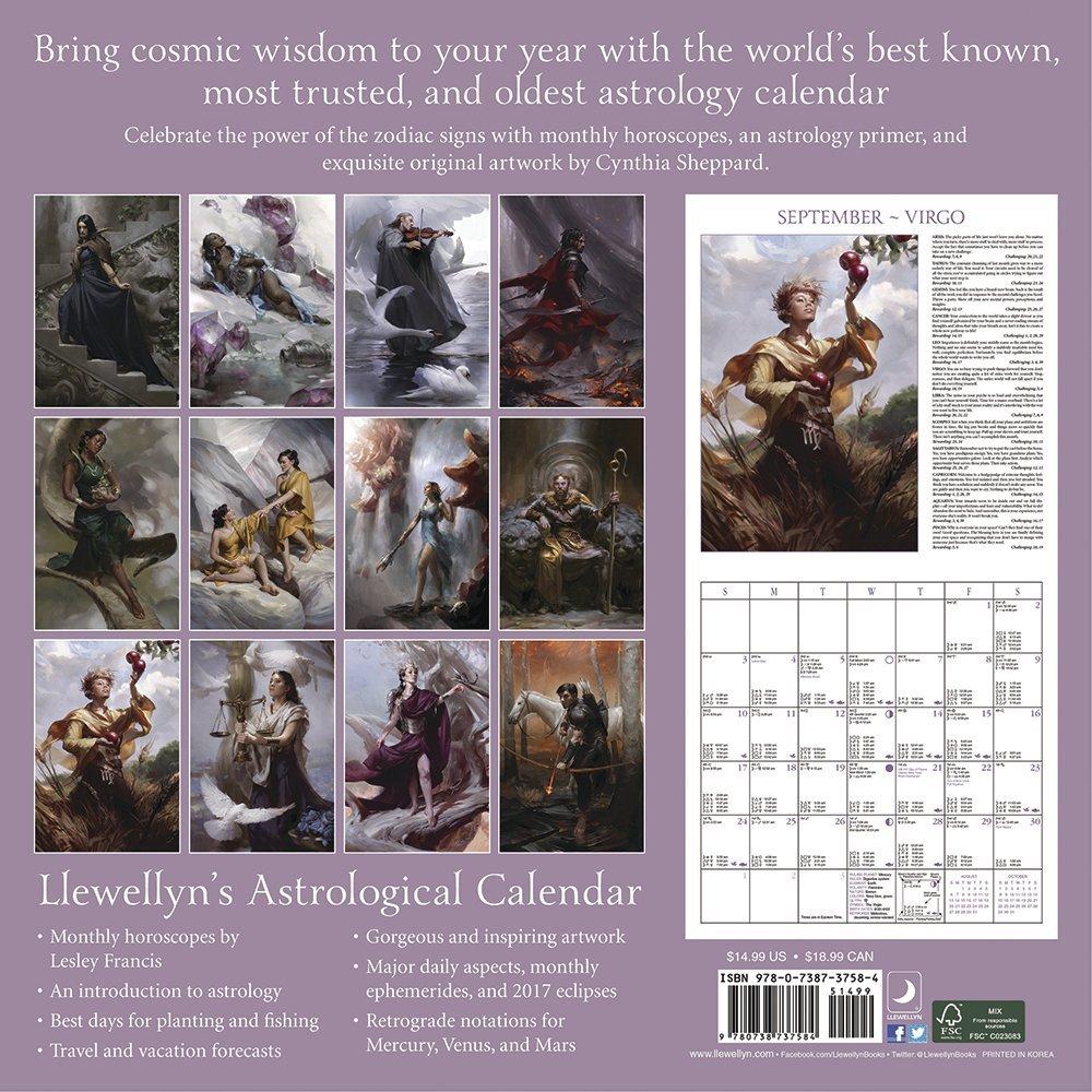 llewellyns astrological calendar