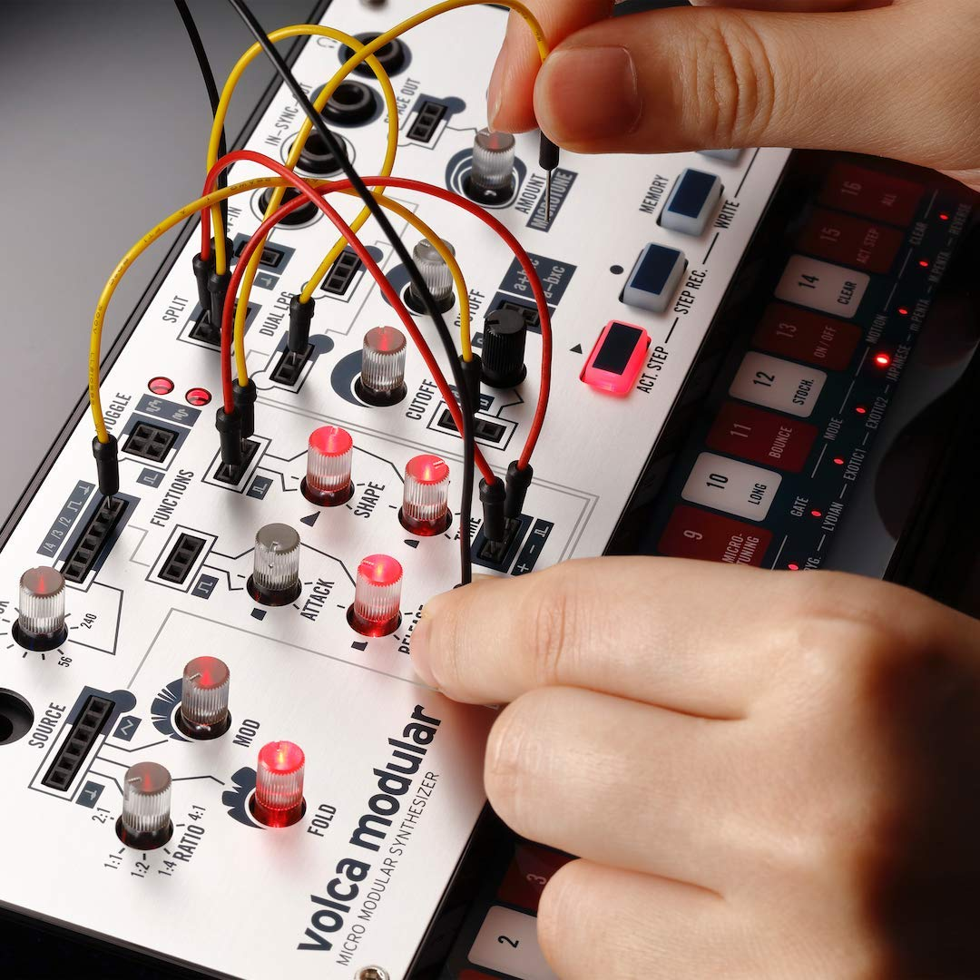 Korg Volca Modular Semi-Modular Synthesizer with Sequencer by Korg (Image #7)