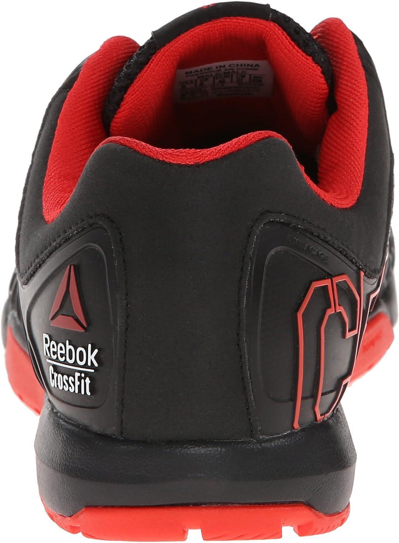 Reebok Crossfit Nano Shoe 4.0 Formation Black China Red Gravel