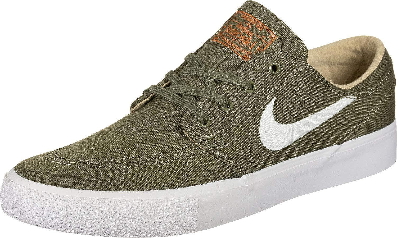 MultiCouleure (Medium Olive blanc Campfire Orange noir 201) Nike SB Zoom Janoski CNVS RM, Chaussures de Fitness Mixte Enfant 36.5 EU