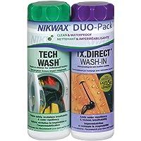 VAUDE Wasmiddel Nikwax Tech Wash TX Direct VPE6, transparant, 2 * 300ml, 30014
