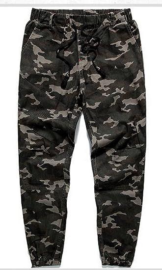 7a5841b393fd38 Amazon.com : Casual Pants Sweat Pants Camo Gymshark Men Trousers (XL) : Baby