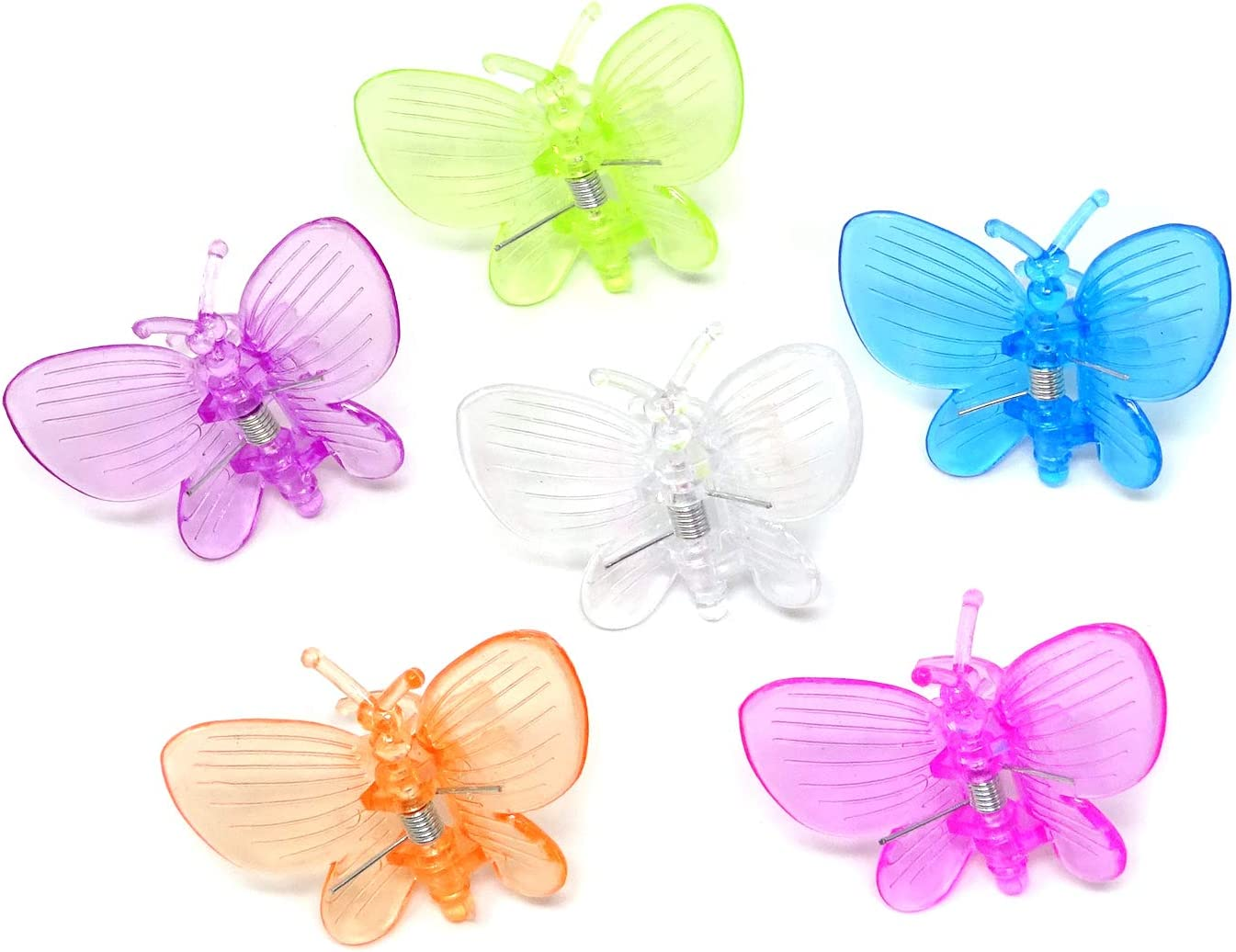 HONBAY 30PCS Butterfly Orchid Clips Plastic Plant Clips Garden Support Clips