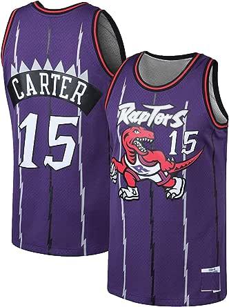 WANZON Camiseta de baloncesto retro Vince Swingman Carter ...