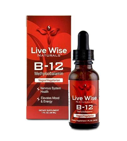 Amazon Com Vitamin B12 Liquid Drops B 12 Sublingual