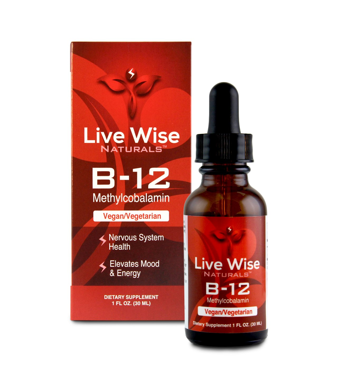 Vitamin B12 Liquid Drops, Sublingual, Methylcobalamin, Vegan, NON GMO, Superior Absorption Over Pills, Capsules, Soft Gels, Patches, 1000/3000/6000mcg, 3000mcg = 60 servings (1 oz.)