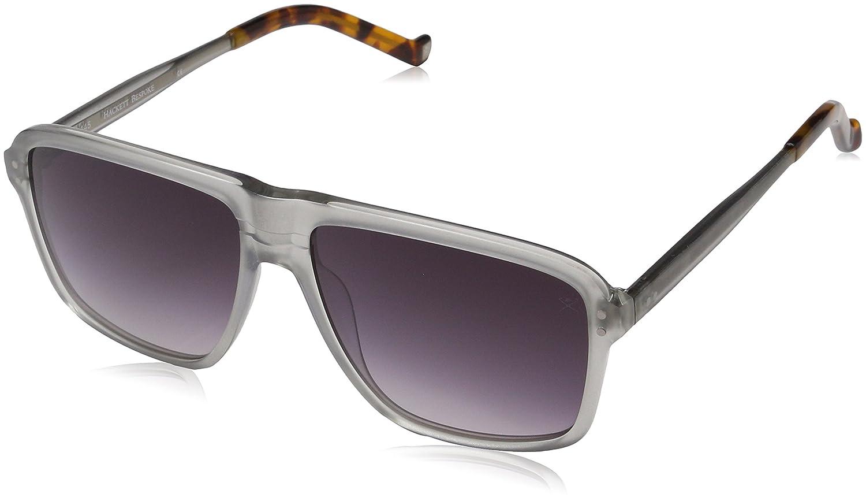 Hackett Bespoke Sunglasses HSB868 Gafas de sol, Gris (Grey ...