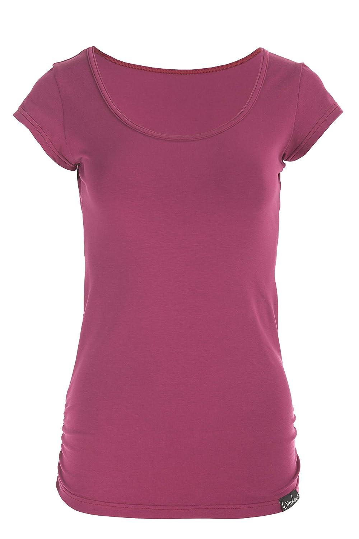 Winshape Womens Fitness Freizeit Yoga Pilates Short-Sleeved Shirt