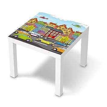 möbel-folie für ikea lack tisch 55x55 cm | dekor kinderzimmer ... - Bunte Kinderzimmermobel Fordern Kreativitat