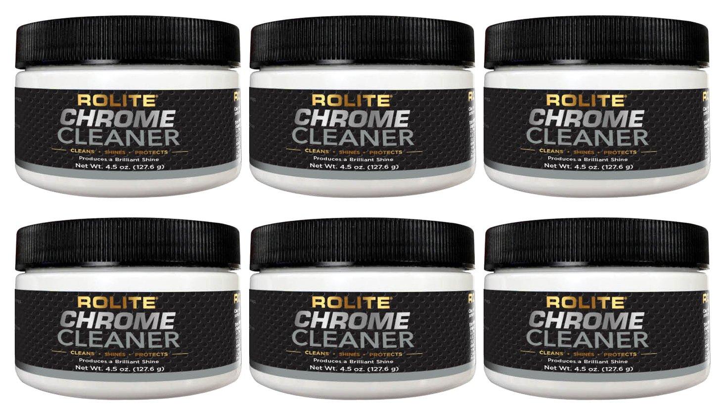 rolite limpiador de cromo (4.5oz) para todo tipo de ...