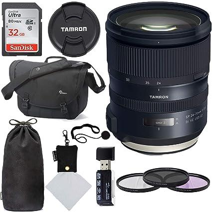 Tamron SP 24 - 70 mm f/2,8 Di VC USD G2 para Nikon Cámaras réflex ...