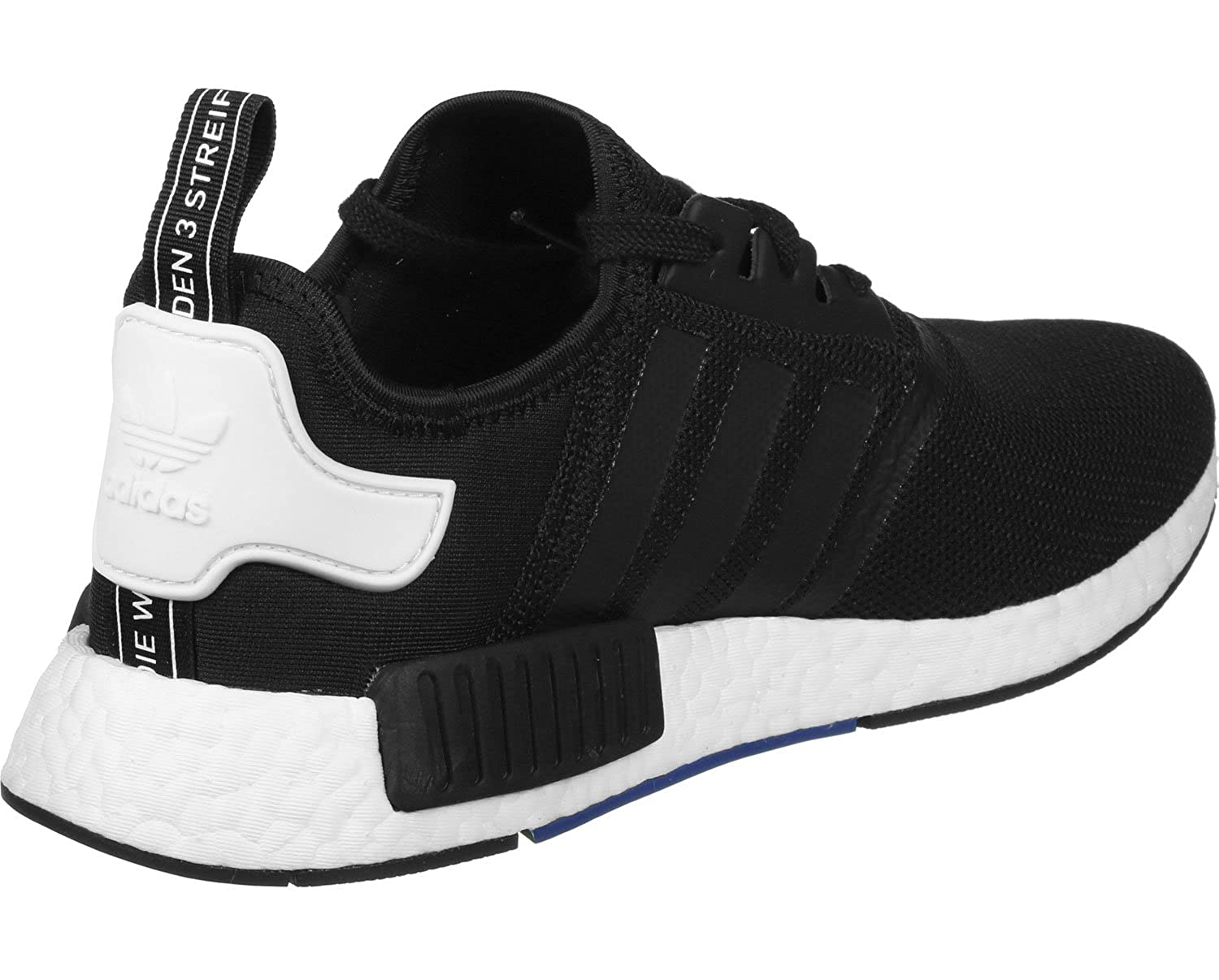 75ffb68a66e69 adidas Originals Men s NMD Runner Black and White Running Shoes - 12 UK   Buy Online at Low Prices in India - Amazon.in