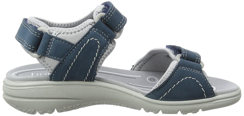 Hotter Damen Mae Offene Blau Sandalen mit Keilabsatz Blau Offene (Blau River 105) d60ee9
