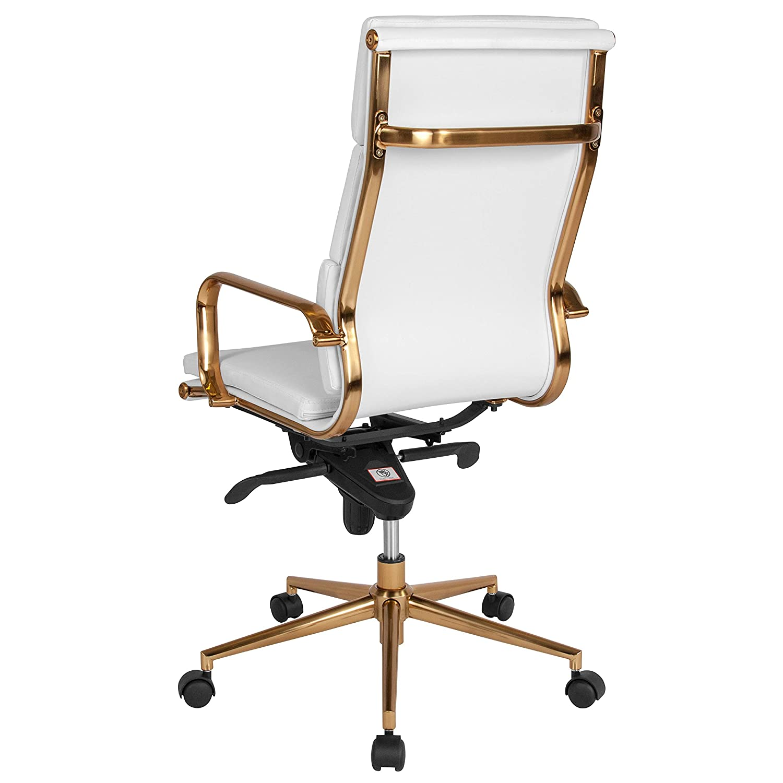 Amazon.com: Flash Furniture - Silla de oficina giratoria de ...