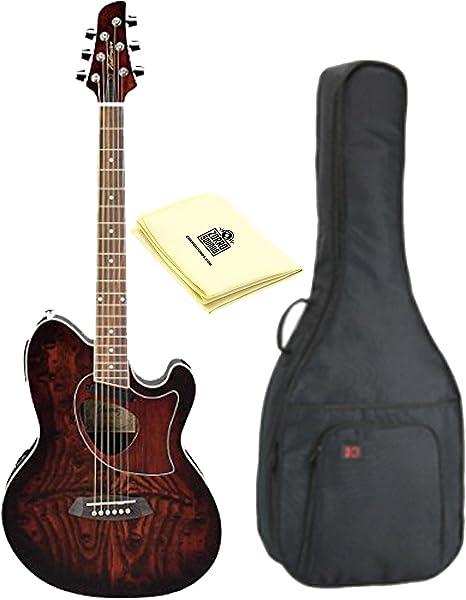 Ibanez Talman TCM50 Cutaway Guitarra Electroacústica guitarra en ...