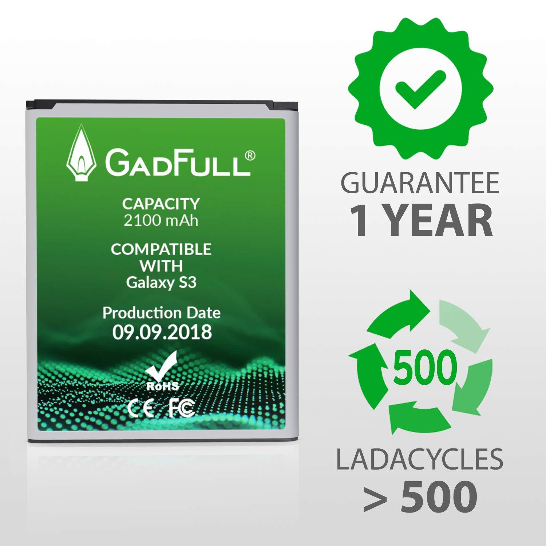 GadFull Akku für Samsung Galaxy S3